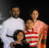 Rev. Varghese Ninan & Family